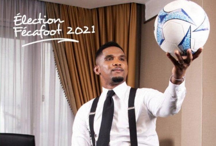 Cameroun : candidat à la Fécafoot, Samuel Eto'o fait déjà une promesse!