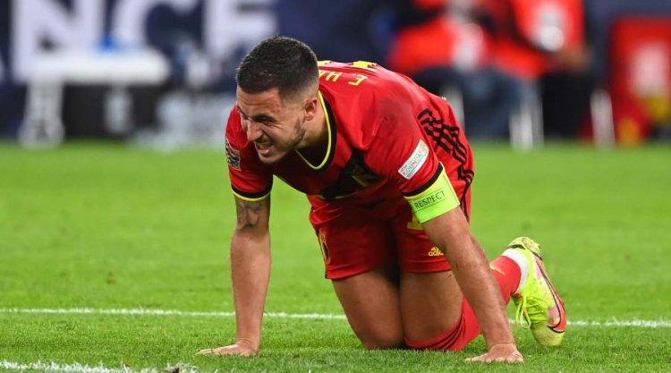 Sorti sur blessure contre la France, Eden Hazard inquiète le Real Madrid